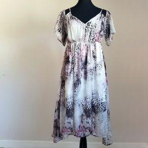 Romeo & Juliet Couture Cold Shoulder Summer Dress